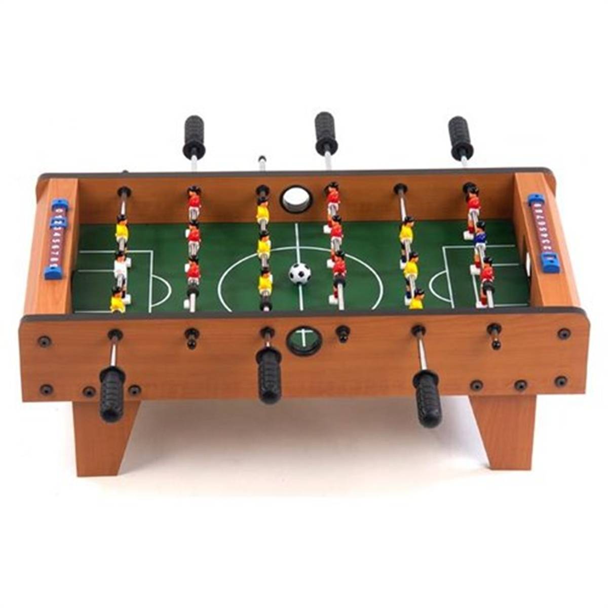 DELUXE TABLE TOP MINI FOOTBALL TABLE FOOSBALL PLAYERS FAMILY GAME TOY XMAS  GIFT | EBay