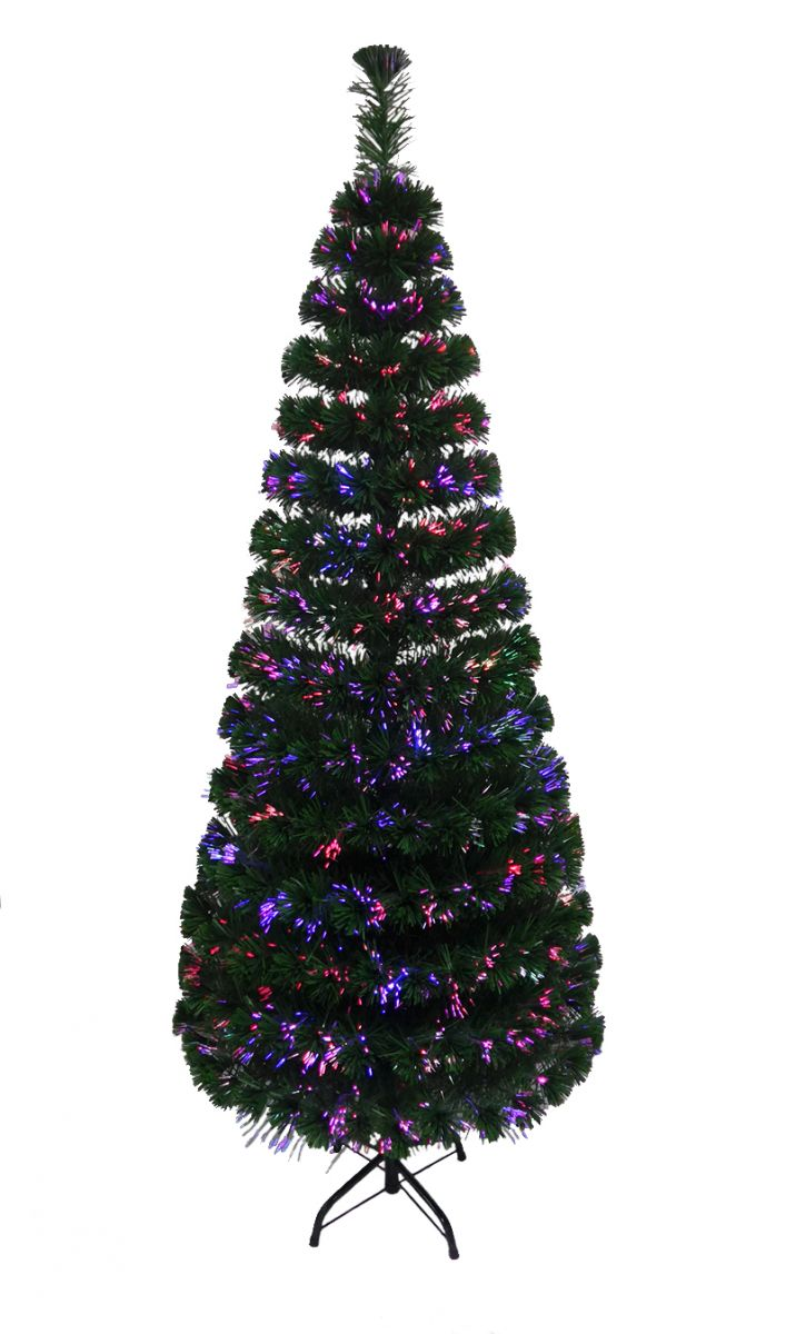 2ft, 3ft, 4ft, 5ft, 6ft Fibre Optic LED Christmas Tree Pre-Lit ...