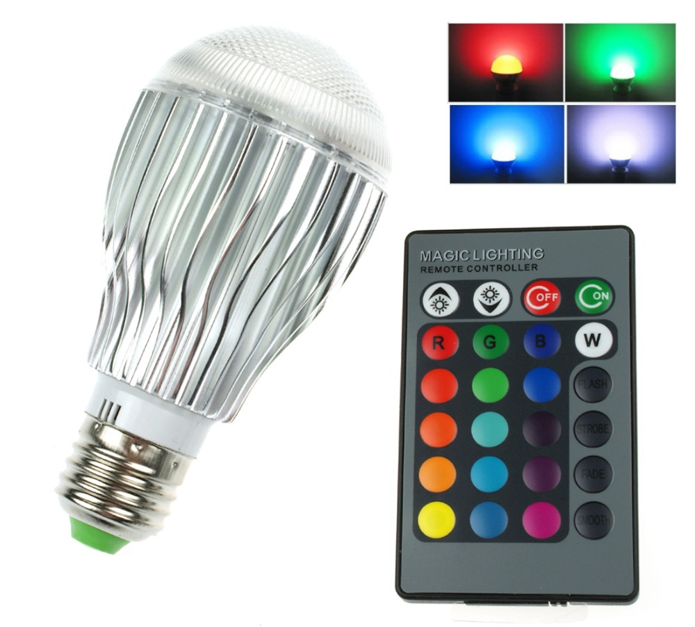 e27 b22 rgb led light bulb 5w dimmable 16 colour changing. Black Bedroom Furniture Sets. Home Design Ideas